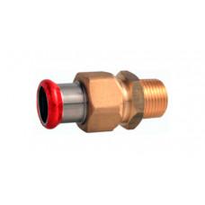 Threaded connection 22 mm х 1/2 C64PE