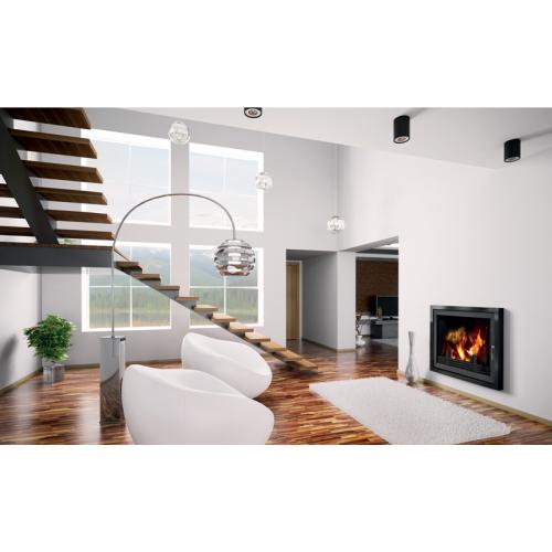 Fireplace (turbo fireplace) Makroterm Migo 24 kW