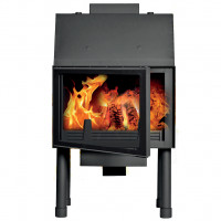 Fireplace (turbo fireplace) Makroterm Migo Glass 32 kW