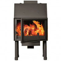 Fireplace (turbo fireplace) Makroterm Migo Glass 18 kW