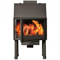 Fireplace (turbo fireplace) Makroterm Migo Glass 24 kW