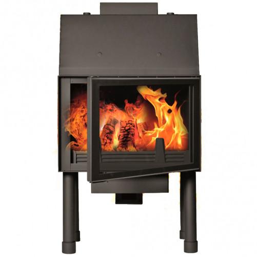 Fireplace (turbo fireplace) Makroterm Migo Glass 18 kW