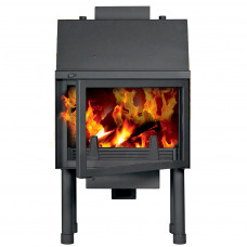 Fireplace (turbo fireplace) Makroterm Migo 18 kW