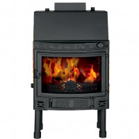 Fireplace (turbo fireplace) Makroterm panoramix 18 kW