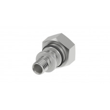 Adapter with nut Euroconus 16mm 713616